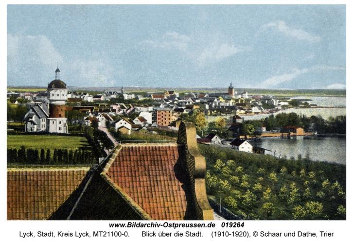Lyck, Blick über die Stadt