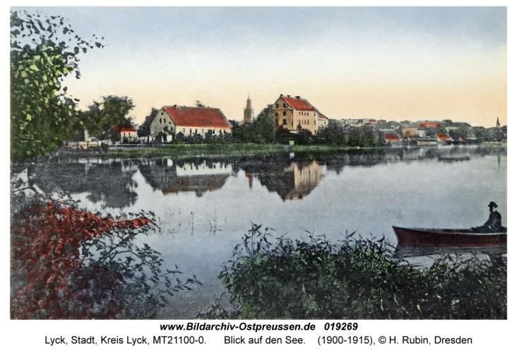Lyck, Blick auf den See