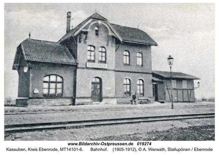 Kassuben, Bahnhof