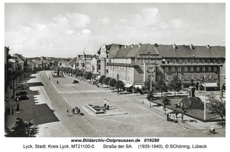 Lyck, Straße der SA