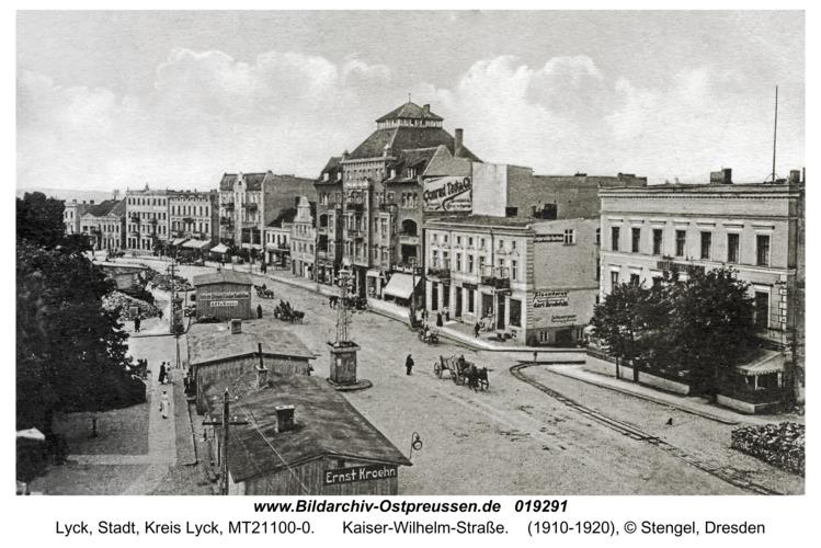 Lyck, Kaiser-Wilhelm-Straße