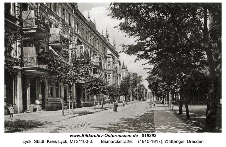 Lyck, Bismarckstraße