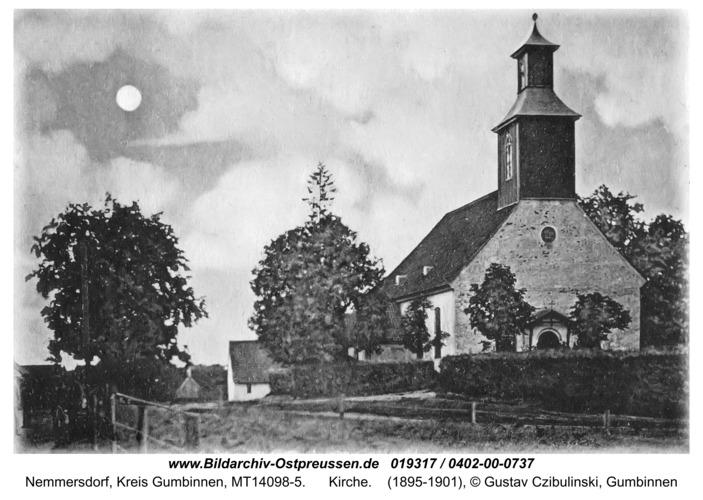 Nemmerskiemen, Kirche