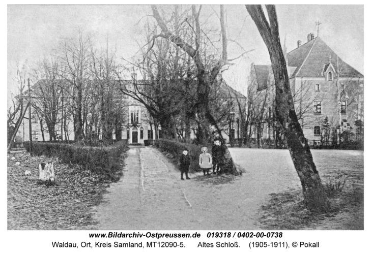 Waldau Kr. Samland, Altes Schloß