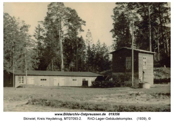 Skirwiet, RAD-Lager-Gebäudekomplex