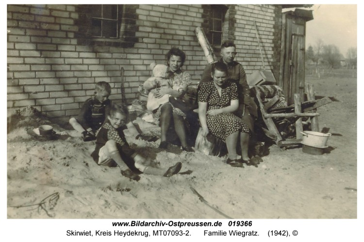 Skirwiet, Familie Wiegratz