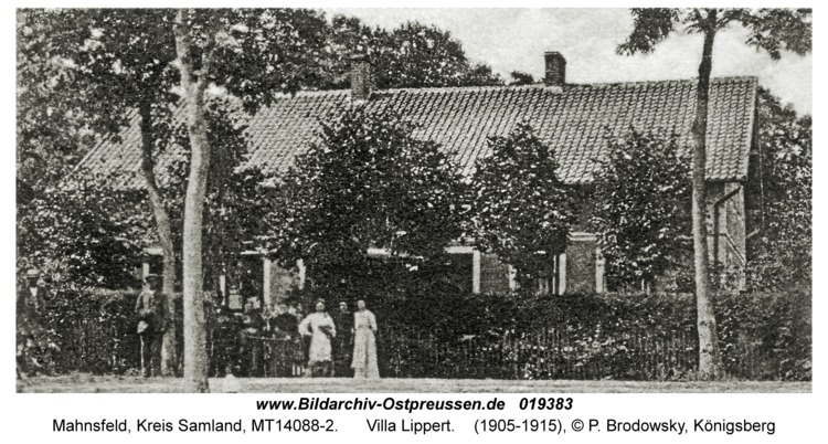 Mahnsfeld, Villa Lippert