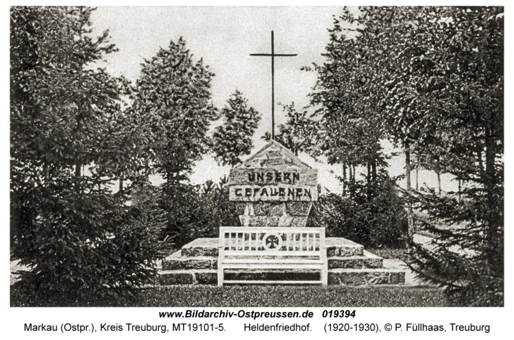 Markowsken, Heldenfriedhof