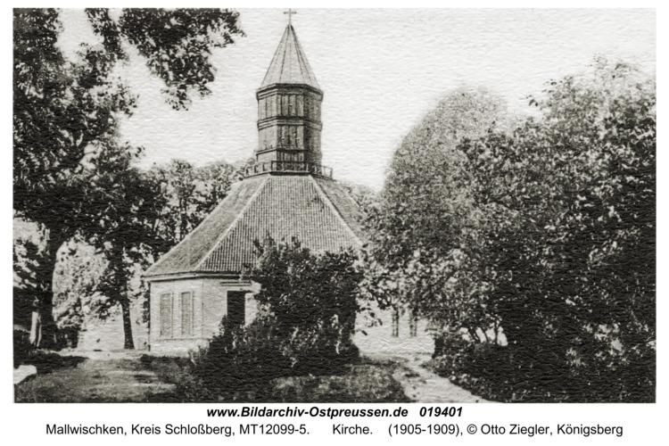 Mallwischken, Kirche