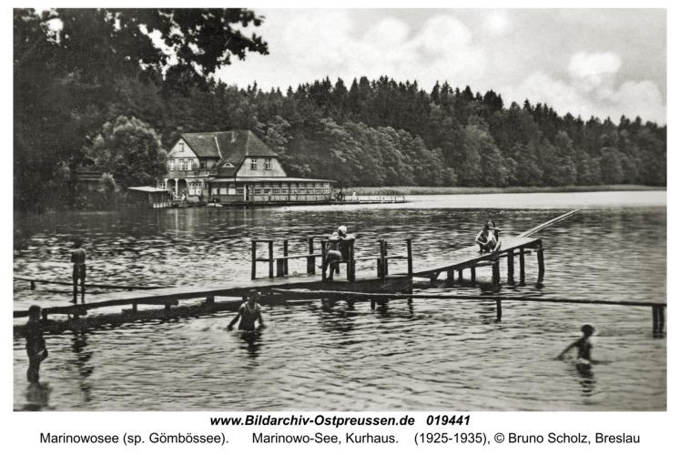 Rominter Heide, Marinowo-See, Kurhaus