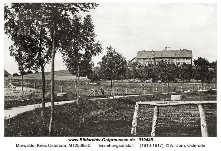 Marwalde, Erziehungsanstalt