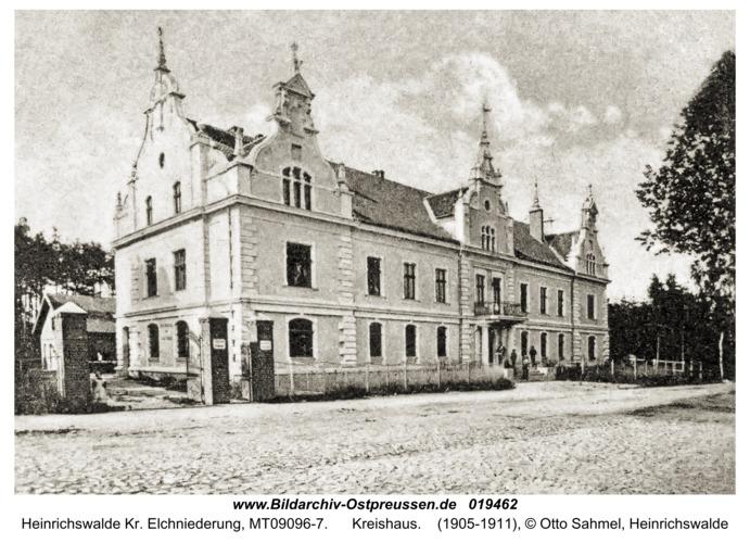 Heinrichswalde Kr. Elchniederung, Kreishaus