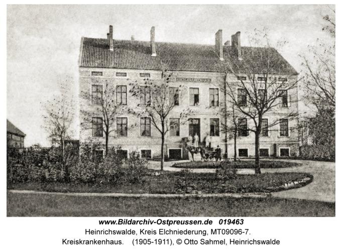 Heinrichswalde Kr. Elchniederung, Kreiskrankenhaus