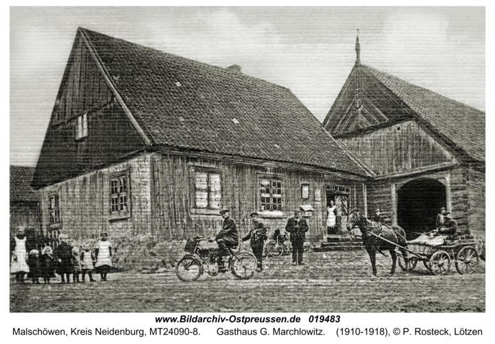 Malschöwen, Gasthaus G. Marchlowitz