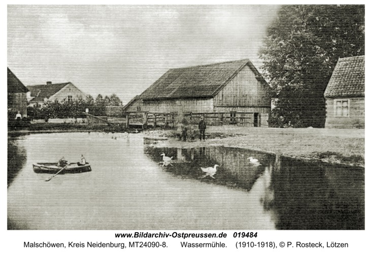 Malschöwen, Wassermühle