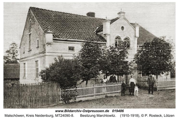 Malschöwen, Besitzung Marchlowitz