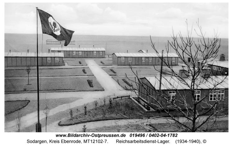 Sodargen, Reichsarbeitsdienst-Lager