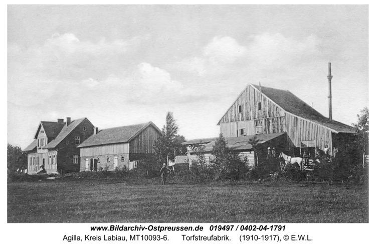 Haffwerder, Ort, Torfwerke