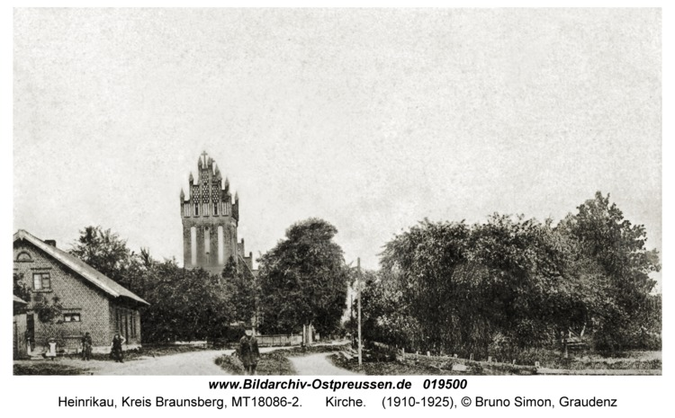 Heinrikau, Kirche