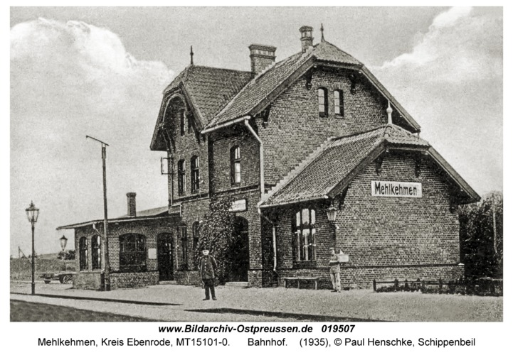 Mehlkehmen, Bahnhof