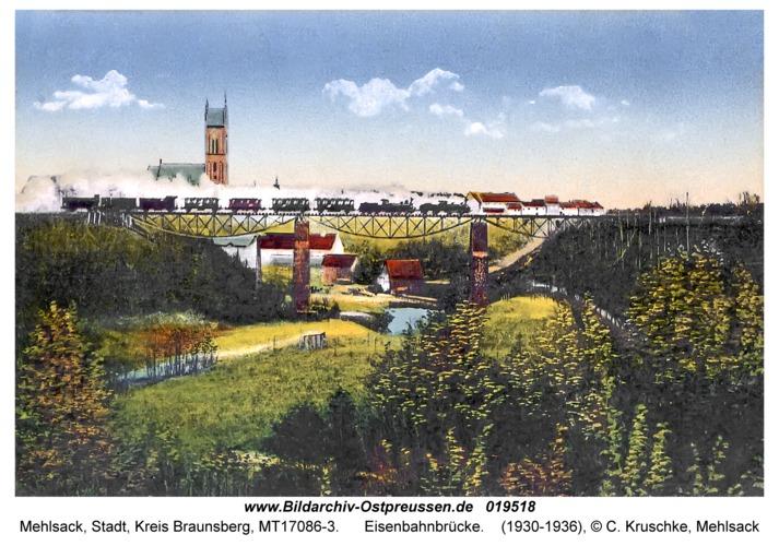 Mehlsack, Eisenbahnbrücke
