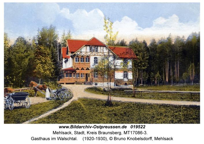 Mehlsack, Gasthaus im Walschtal