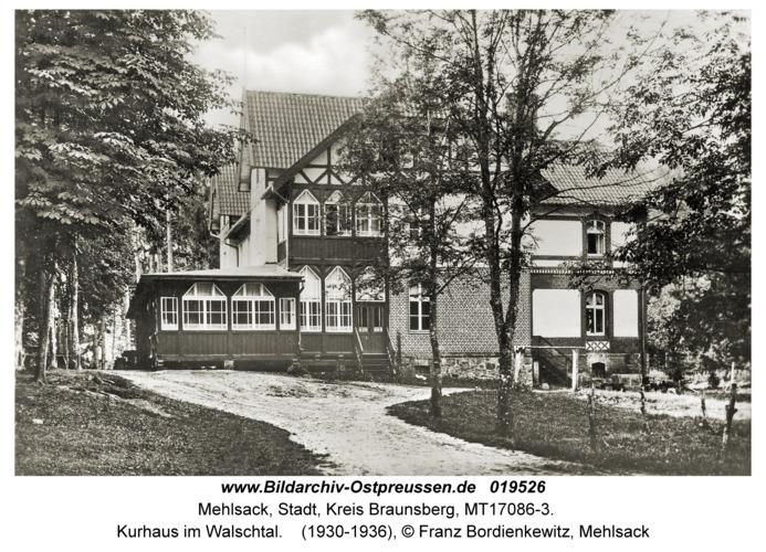 Mehlsack, Kurhaus im Walschtal
