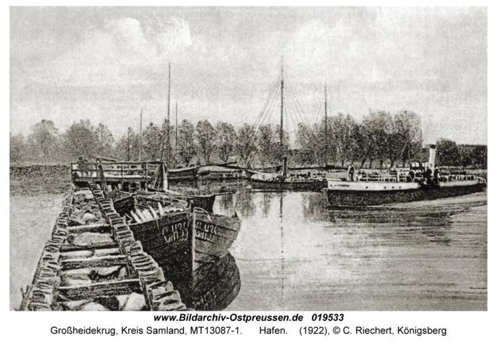 Groß Heydekrug, Hafen