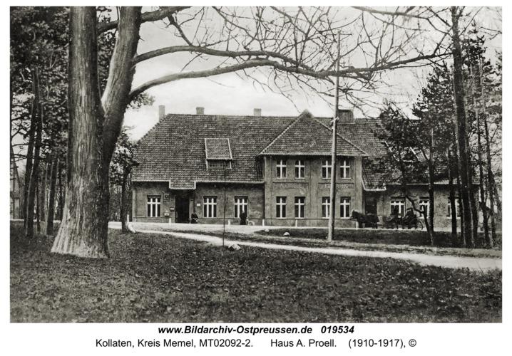 Kollaten, Haus A. Proell