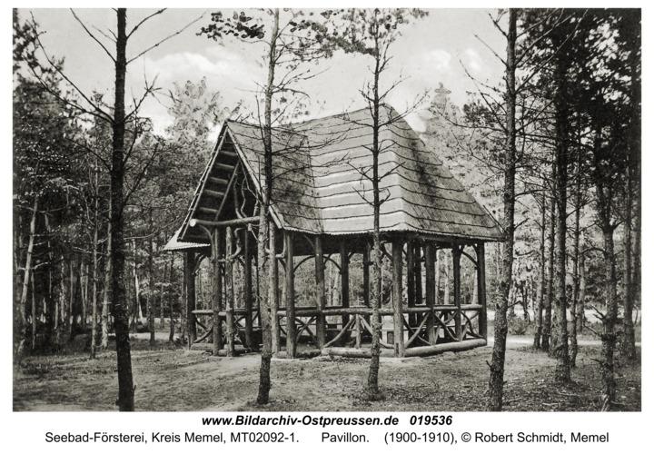 Seebad-Försterei, Pavillon