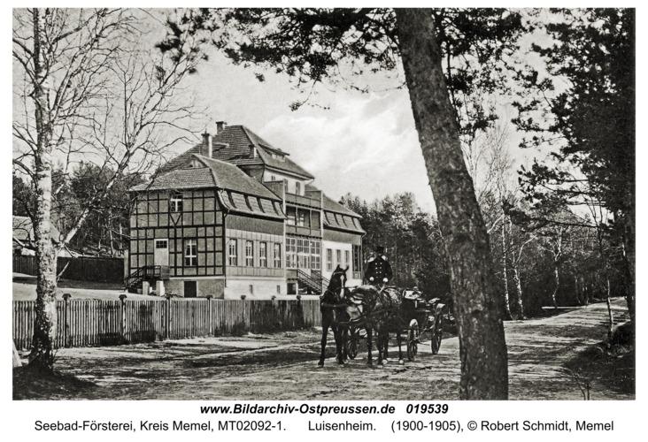 Seebad-Försterei, Luisenheim