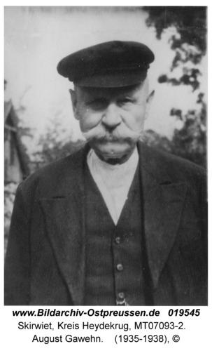 Skirwiet, August Gawehn