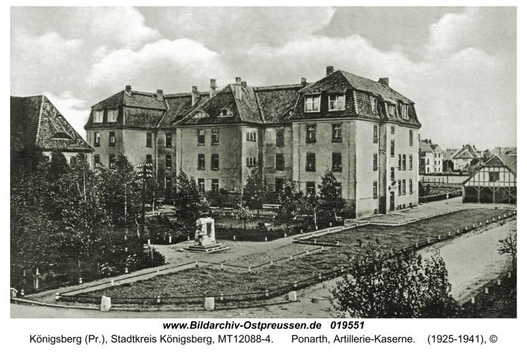 Königsberg, Ponarth, Artillerie-Kaserne