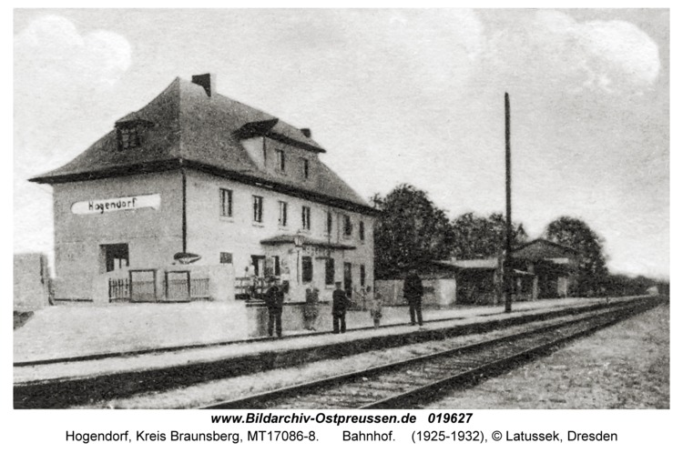 Hogendorf, Bahnhof