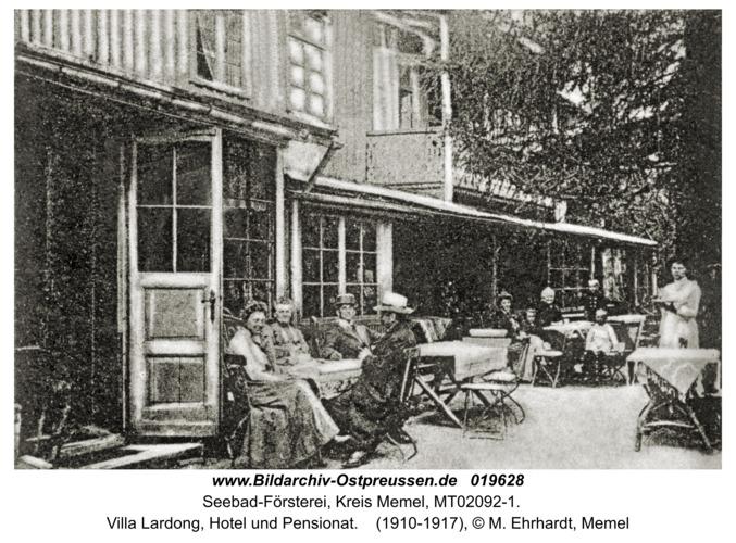 Seebad-Försterei, Villa Lardong, Hotel und Pensionat