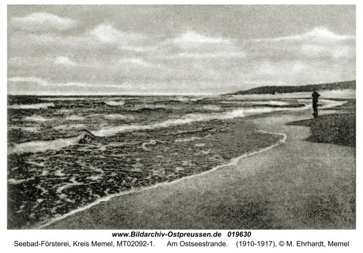 Seebad-Försterei, Am Ostseestrande
