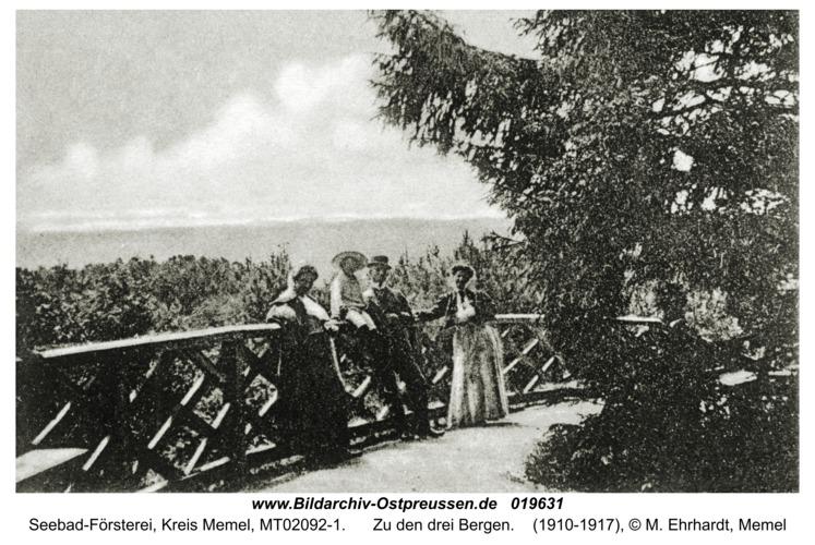 Seebad-Försterei, Zu den drei Bergen