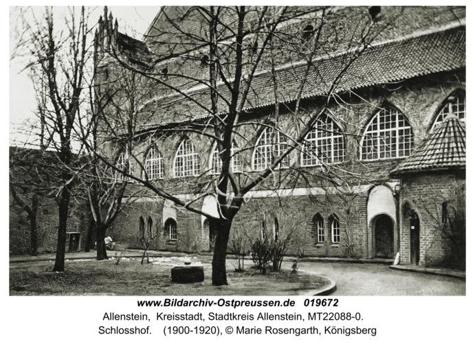 Allenstein, Schloßhof