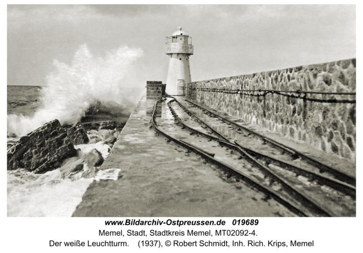 Memel, Der weiße Leuchtturm