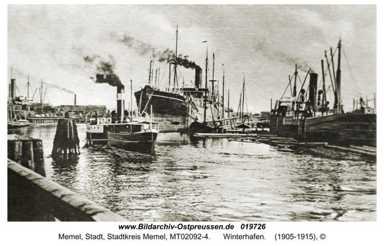 Memel, Winterhafen