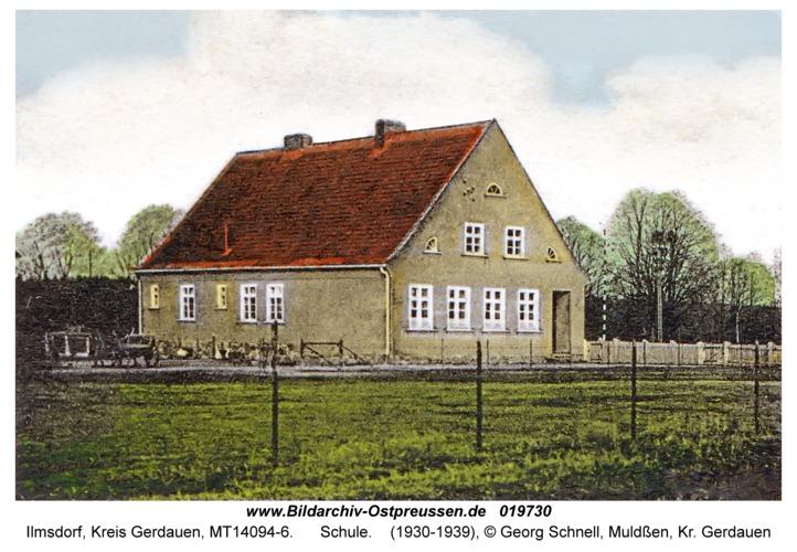 Ilmsdorf, Schule