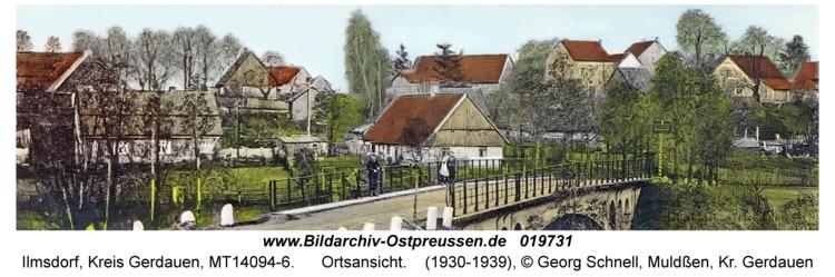 Ilmsdorf, Ortsansicht