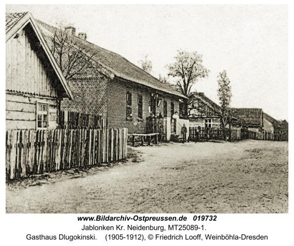 Jablonken Kr. Neidenburg, Gasthaus Dlugokinski