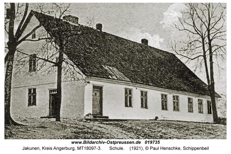 Jakunowken, Schule