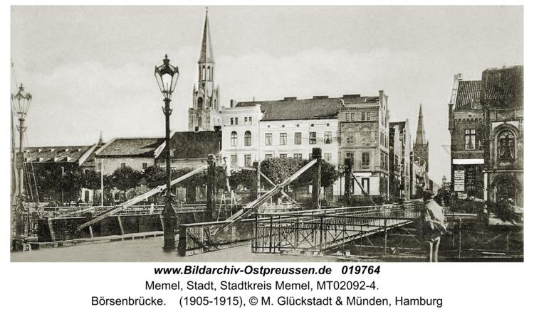Memel, Börsenbrücke