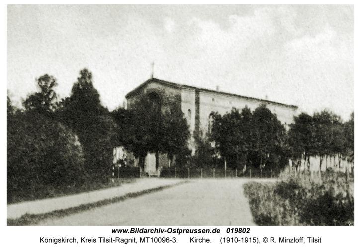 Jurgaitschen Kr. Tilsit-Ragnit, Kirche