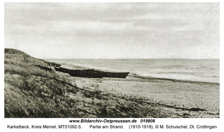 Karkelbeck, Partie am Strand
