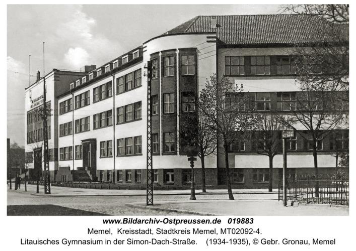 Memel, Simon-Dach-Straße