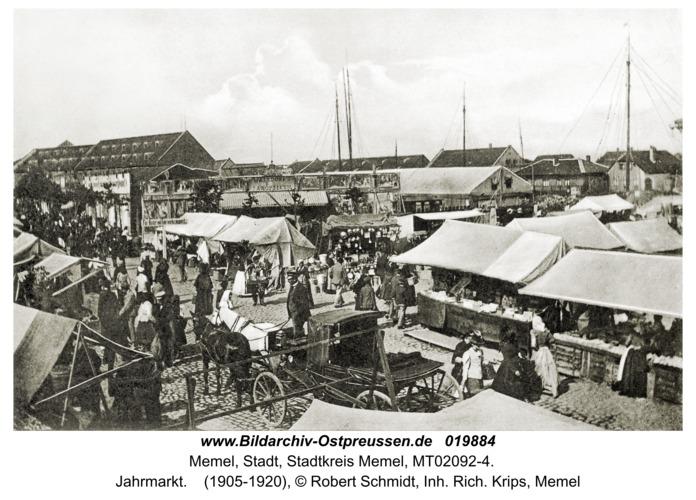 Memel, Jahrmarkt