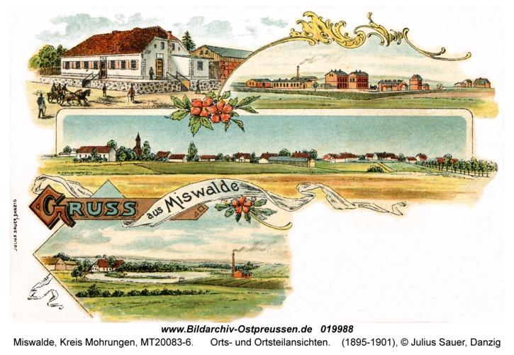 Miswalde, Orts- und Ortsteilansichten